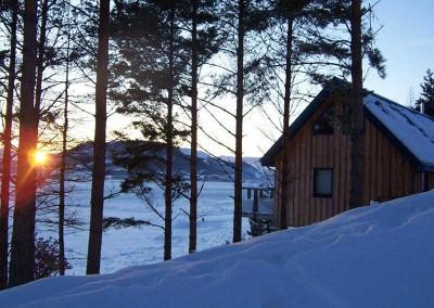 the-drey-exterior-sunset-snow