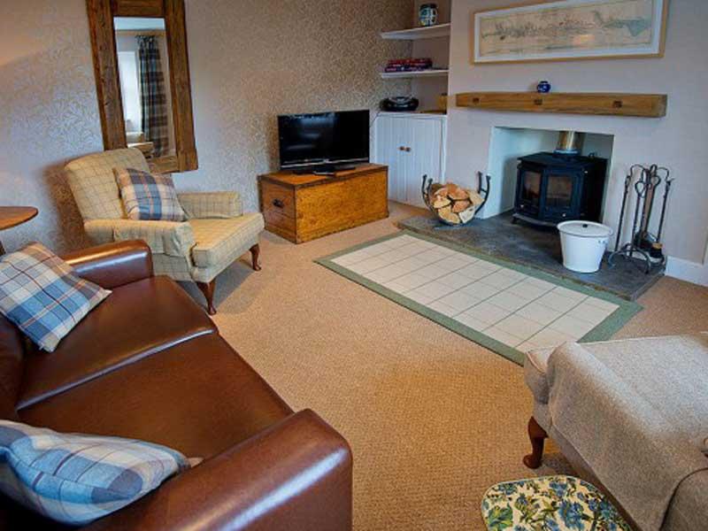 living room with bridge tomnahurich bridge house