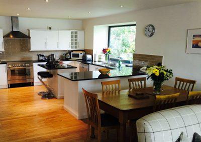 torridon boathouse kitchen