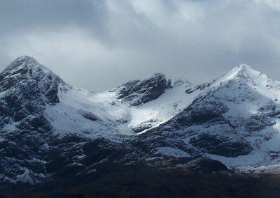 cuillin mountains skye