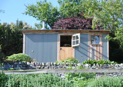 luxury glamping huts scotland