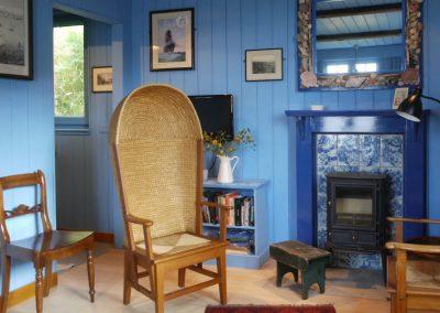 blue cabin lounge