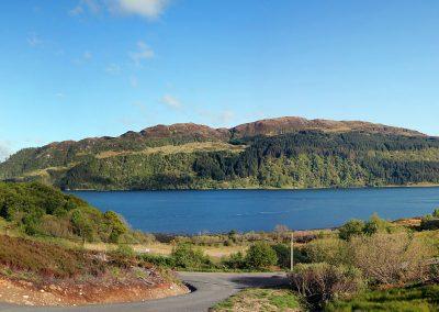 avernish lodge lochside views